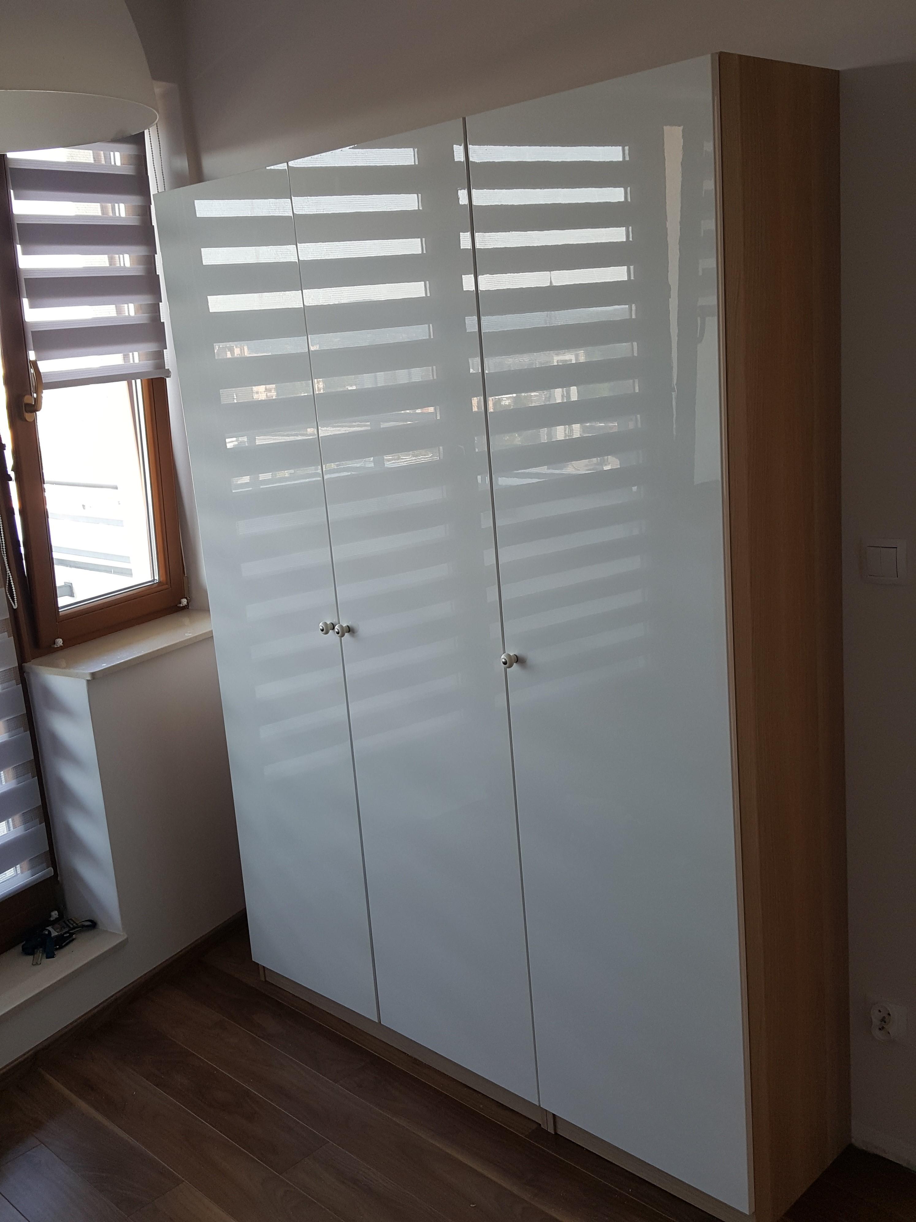 szafy IKEA - montaż