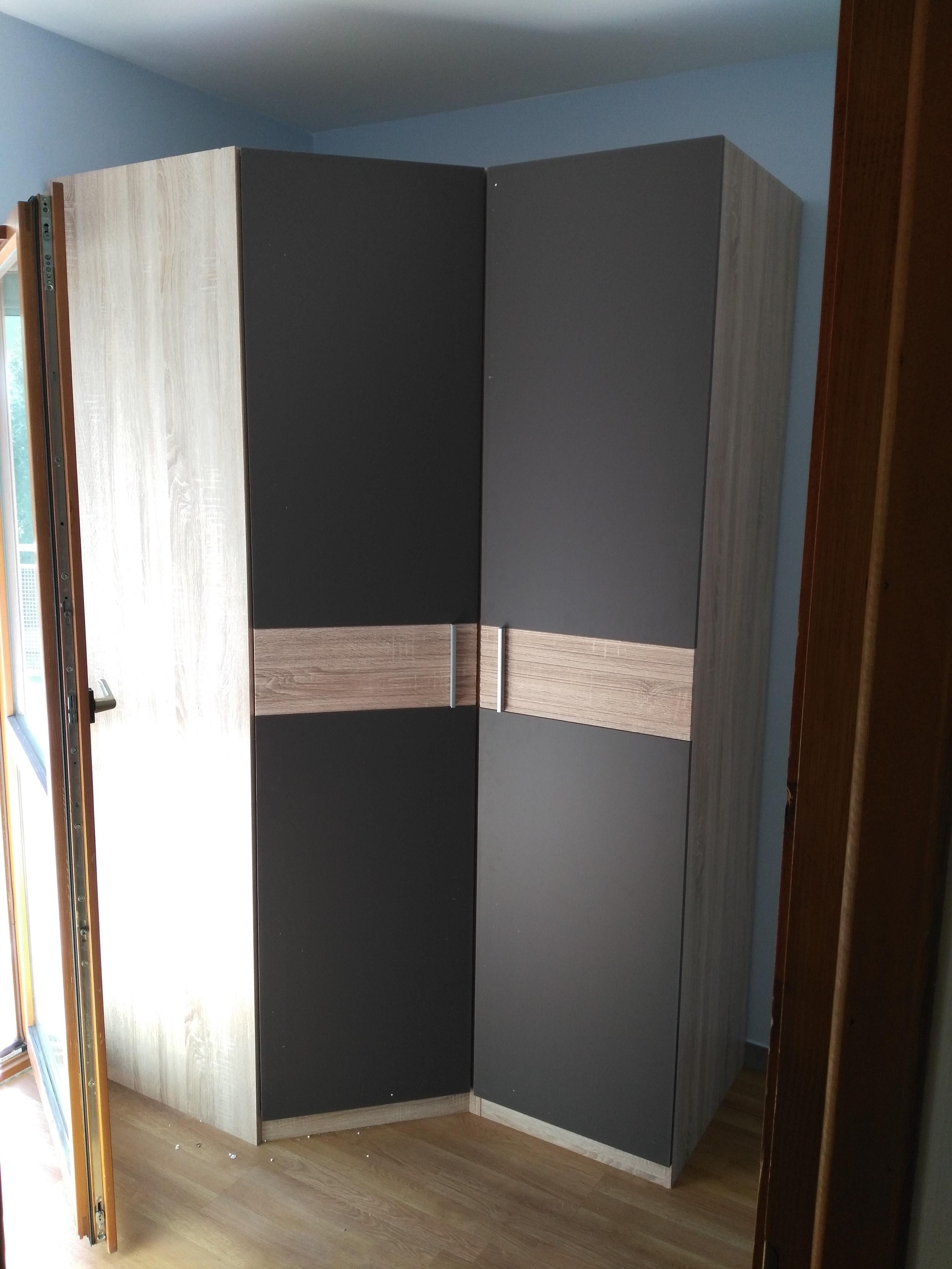 Montaż szafy narożnej z dostawką BRW