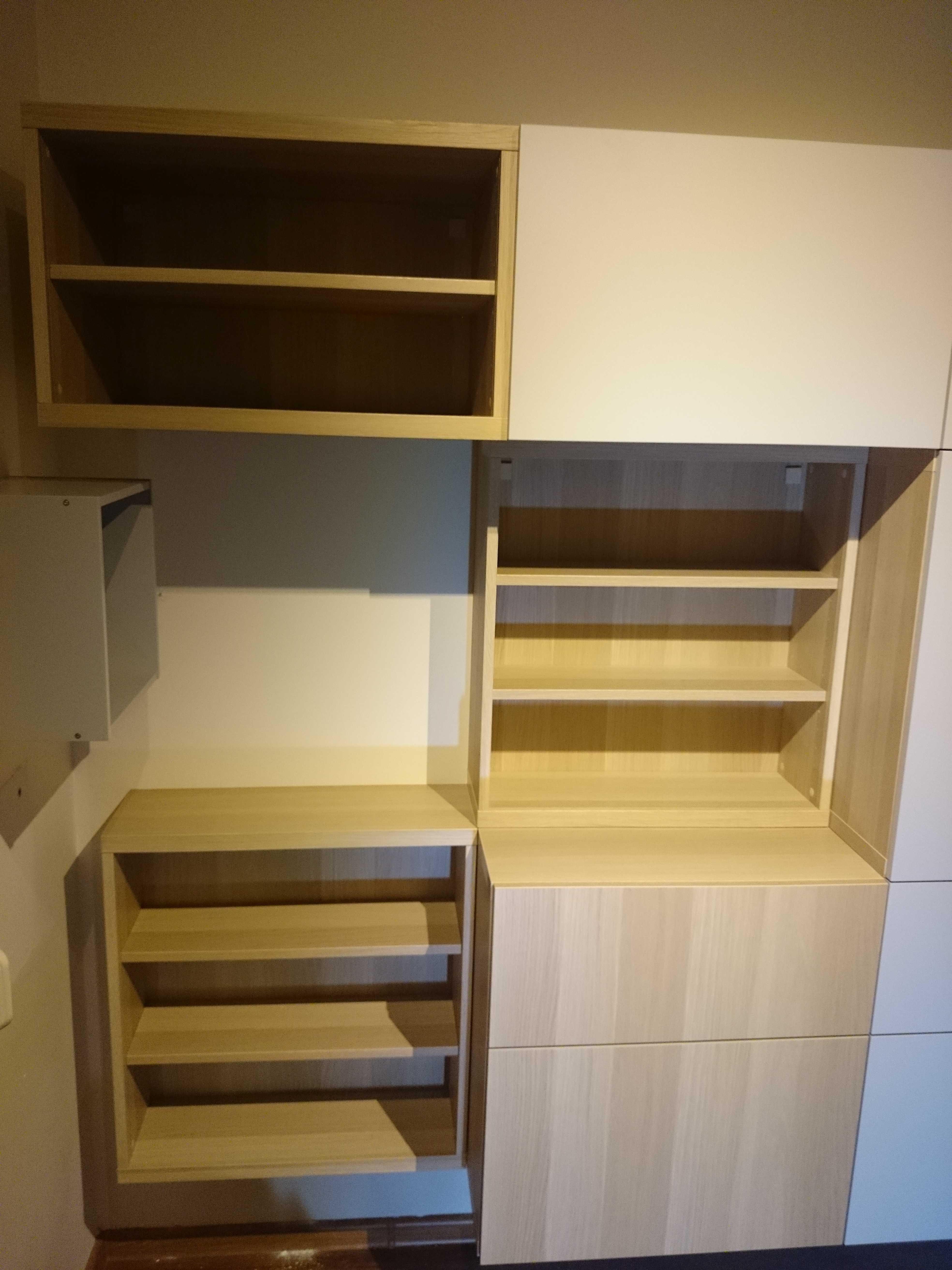 składanie i montaż szafek wiszących BESTA Kraków Małopolska